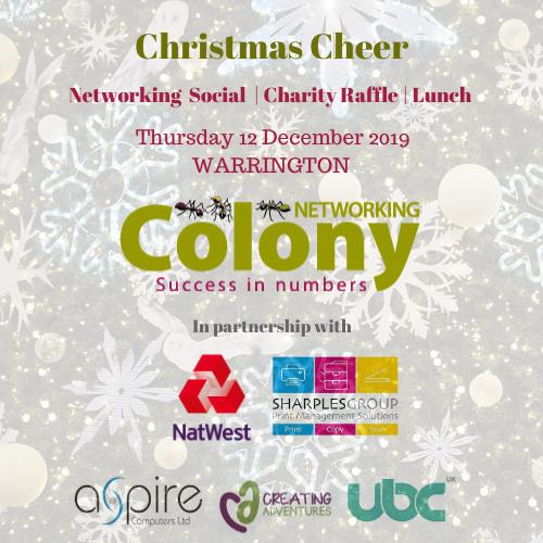 Christmas Networking (Warrington) December 2019
