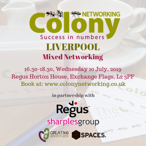 Colony Networking (Liverpool) July 2019