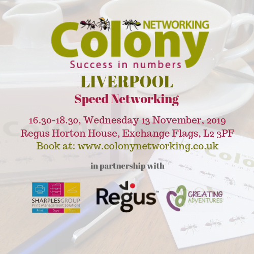 Colony Networking (Liverpool) November 2019