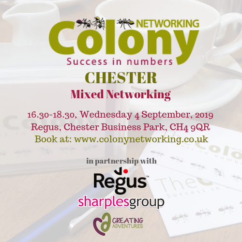 Colony Networking (Chester) September 2019