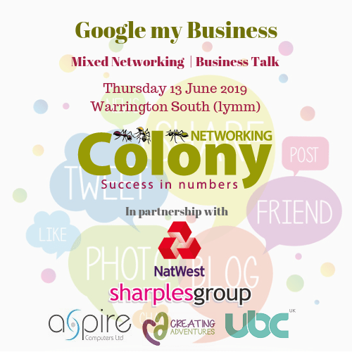 Colony Networking (Warrington South) June 2019