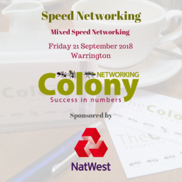 Colony Speed Networking Autumn 2018