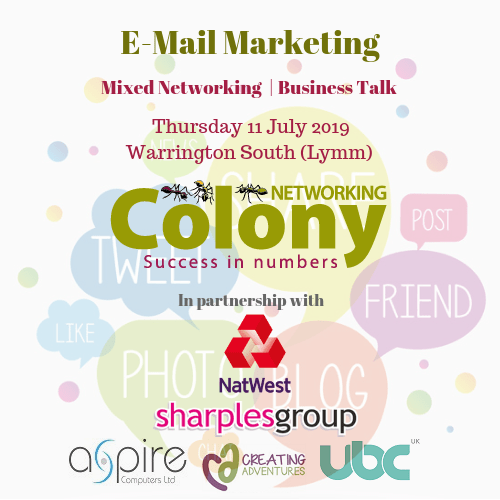 Colony Networking (Warrington South) July 2019
