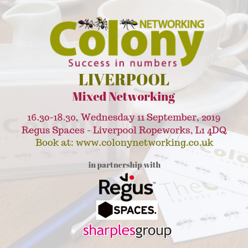 Colony Networking (Liverpool) September 2019