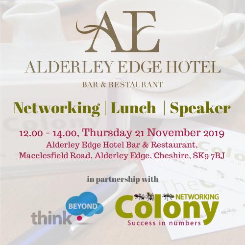 Alderley Edge Networking & Lunch – 21 November 2019