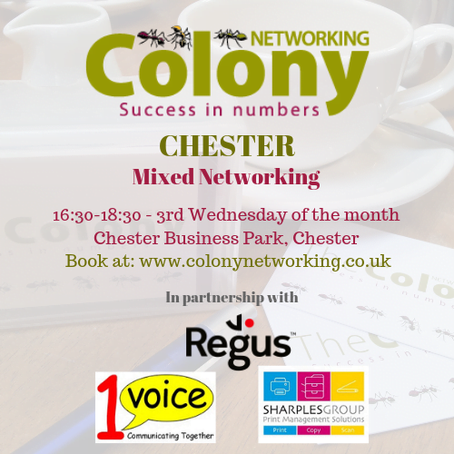 Colony Networking (Chester) September 2020