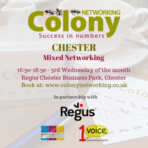 Colony Networking (Chester) March 2020
