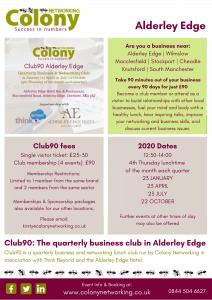 Colony Club90 Alderley Edge