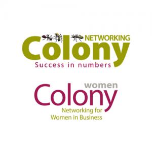 Colony Networking Colony Women Logo