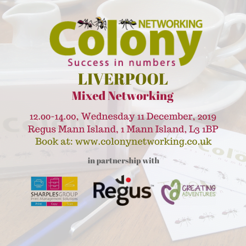 Colony Networking (Liverpool) December 2019
