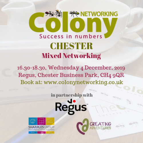 Colony Networking (Chester) December 2019