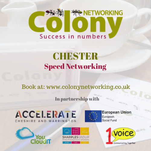 Colony Speed Networking (Chester) February 2020