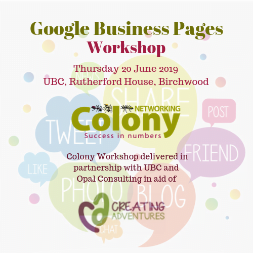 Colony Workshop: Google Business Pages