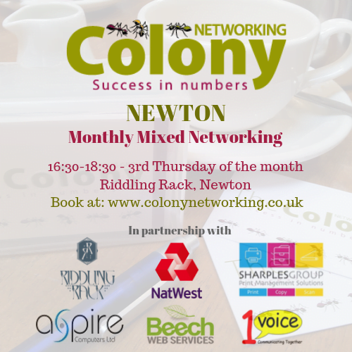 ONLINE: Colony Networking (Newton) May 2020