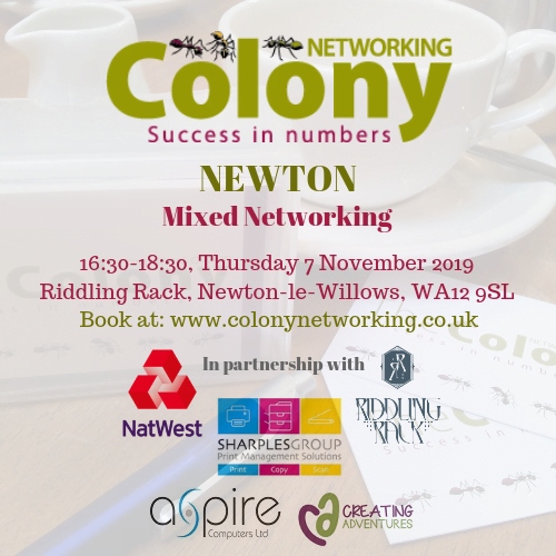 Colony Networking (Newton) November 2019