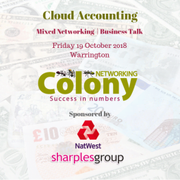 Colony Networking Cloud Accounting October 2018