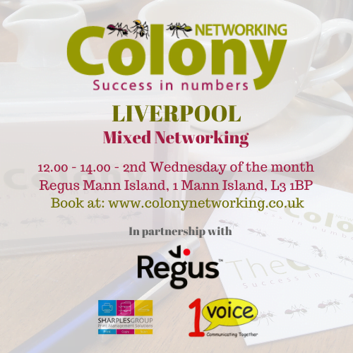 Colony Networking (Liverpool) September 2020