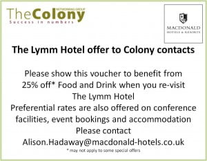 Lymm Hotel Colony offer