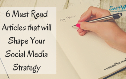 Guest Blog – 6 Must Read Articles that will Shape Your Social Media Strategy