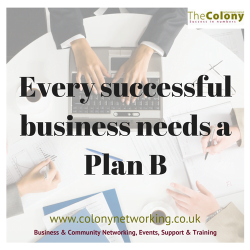 Successful businesses need a Plan B