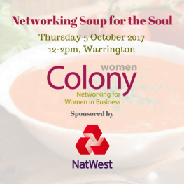 Colony Women Networking Soup for th Soul Oct 2017