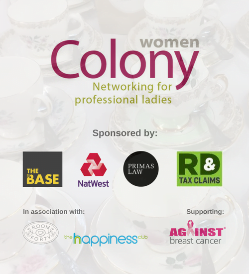 Colony Women Launch – Networking Tea with a Twist