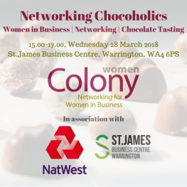 Colony Women & St James Networking Chocolate 280318