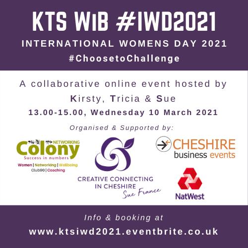KTS International Women's Day #IWD 2021