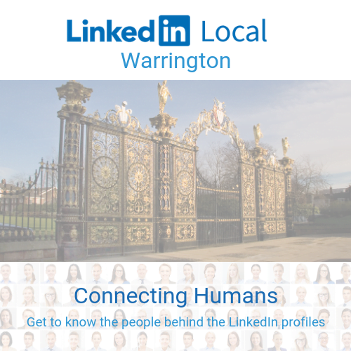 #LinkedInLocal Warrington Autumn 2019