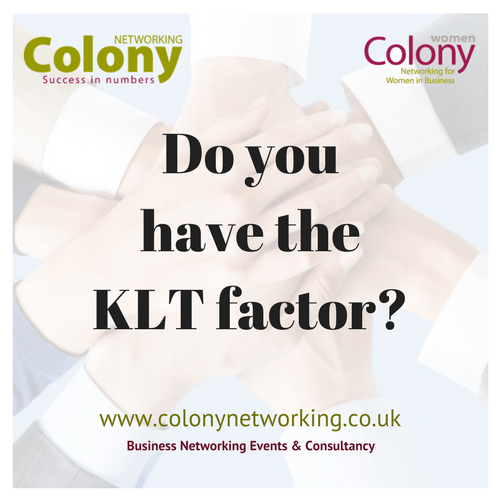 Do you have the KLT factor?