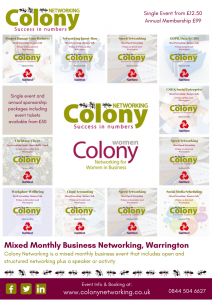 Colony Networking 2018 Events