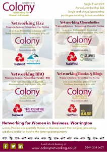 Colony Women 2018 Events