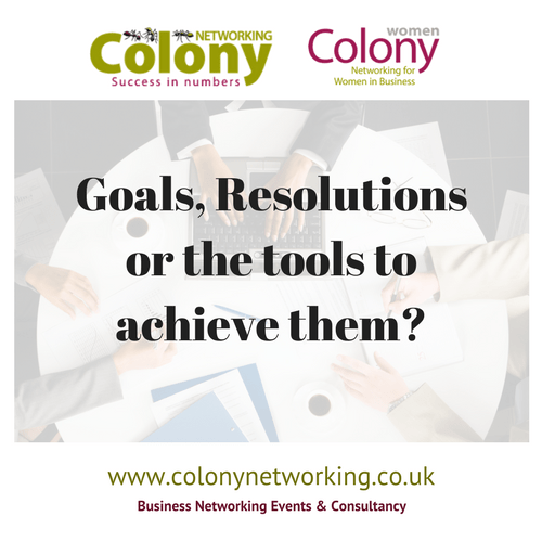 Goals, resolutions, or the tools to achieve them?