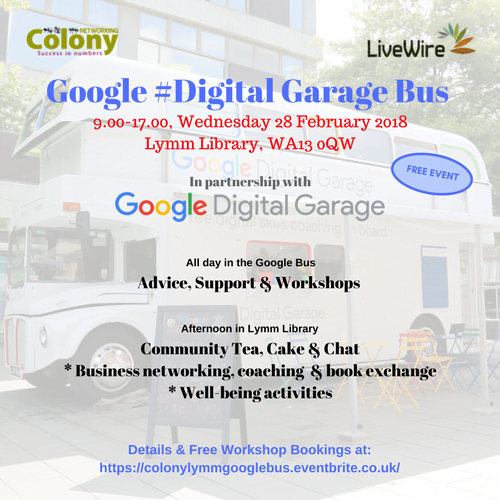 Google #DigitalGarage Bus