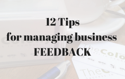 12 Tips on Feedback