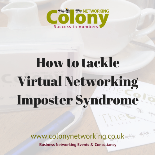 How to tackle Virtual Networking Imposter Syndrome