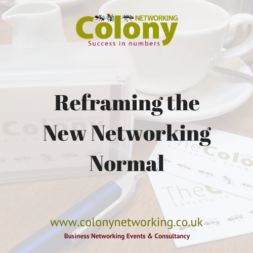 Reframing the New Networking Normal