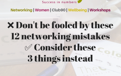 ❌12 networking mistakes & 3 actions